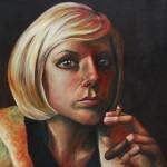 Acrylic & Oil on Canvas; 48 x 48