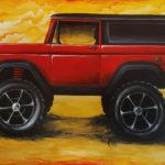 Acrylic on Wall - 15' x 12'